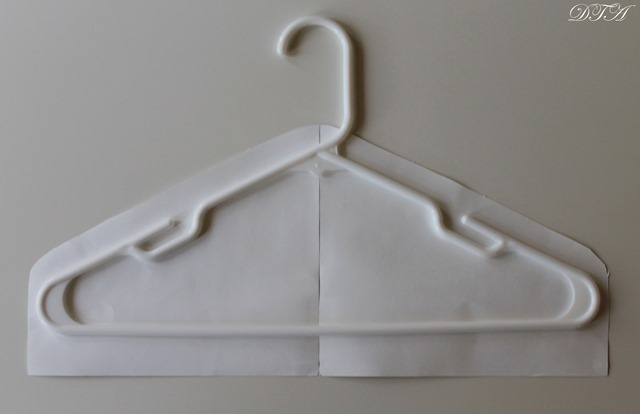 Fabric Covered Hangers pattern