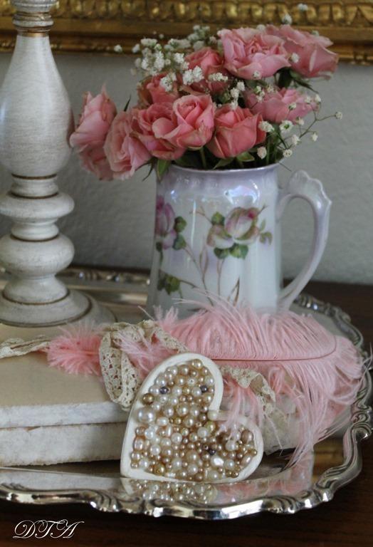 Valentine Love pearl hearts