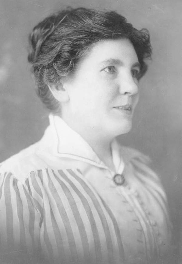 Laura Ingalls Wilder, age 51, 1918.