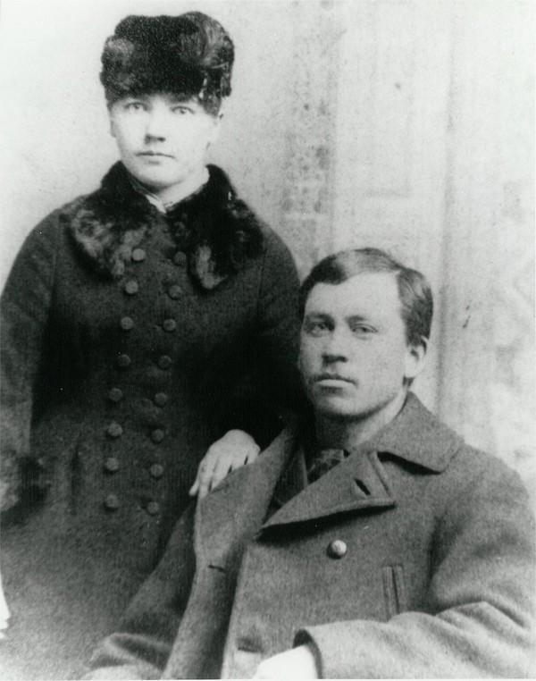 Laura and Almanzo Wilder 1885
