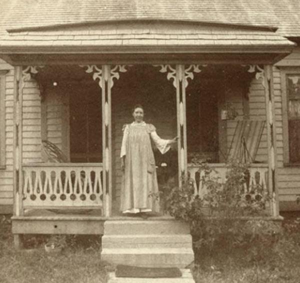 Laura Ingalls Wilder Mansfield rental home
