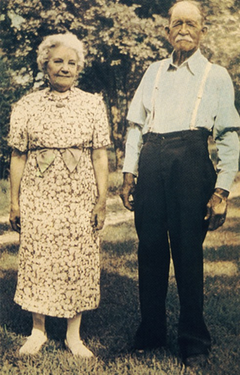 Laura and Almanzo Wilder at Rocky Ridge Farm.