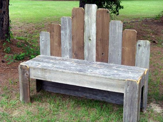 DIY Pallet Garden Bench | Pallet Furniture DIY: