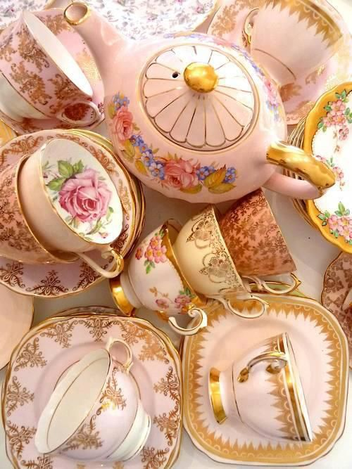 Old, but gold beautiful china: