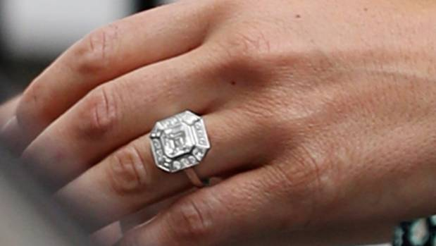 Pippa's engagement ring