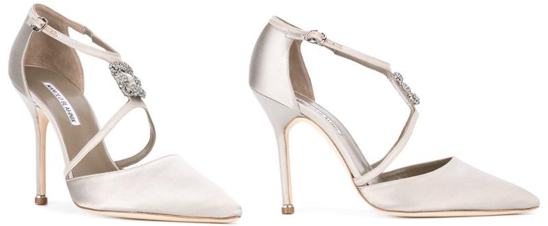 Image result for Seneca bridal heel by Manolo Blahnik