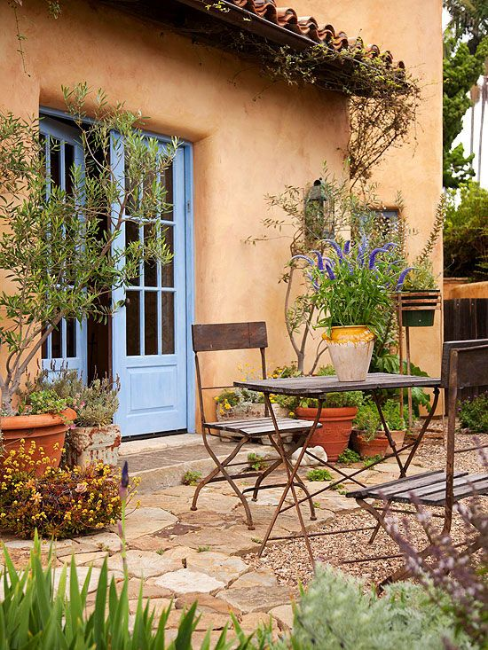 French Country Decorating Blue