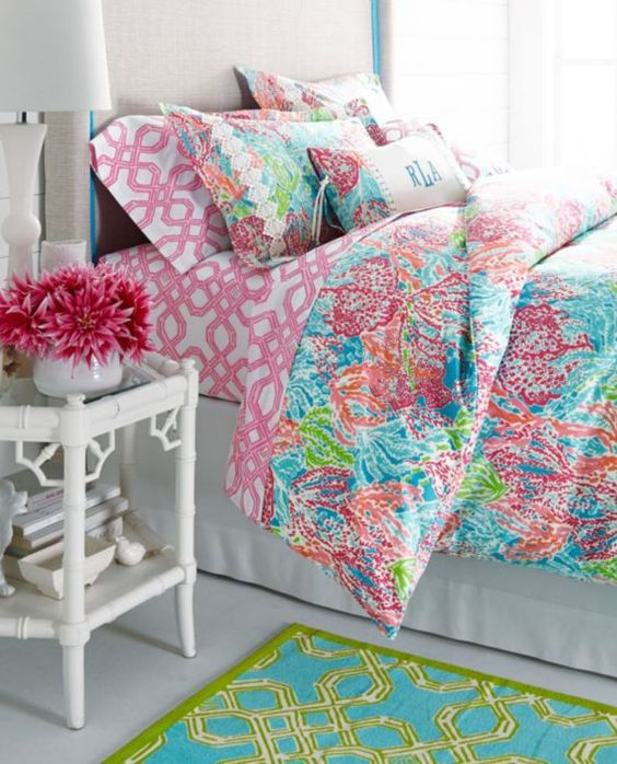 Lilly Pulitzer Sister Florals Duvet Cover Collection by Garnet Hill: