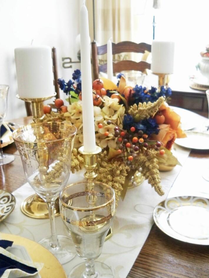 Day 4 Stunning Thanksgiving Vignettes