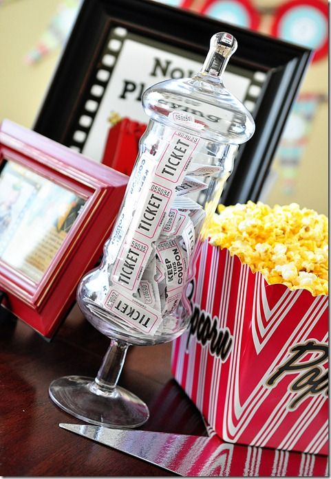 Favorite Movie Night Party Ideas Decor To Adore